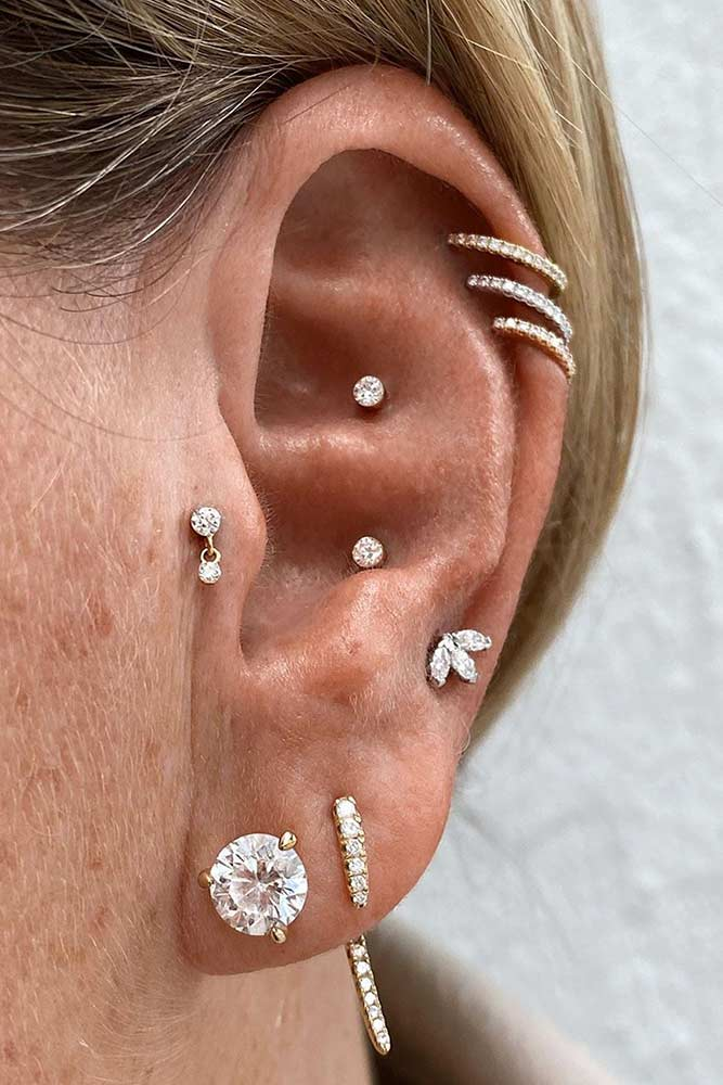 Chic Tragus Piercing #piercing #tragus