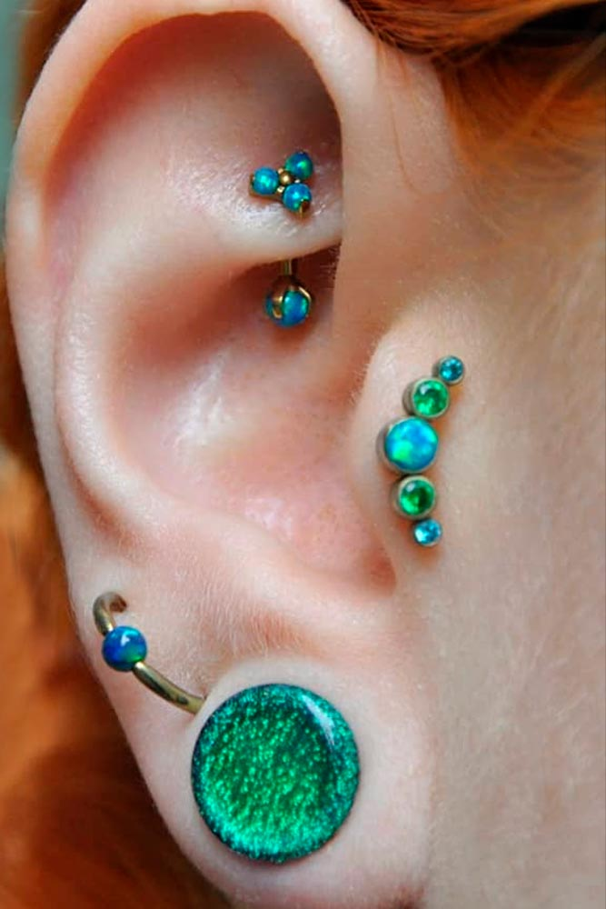 Tragus Piercing Jewelry #piercing #beauty