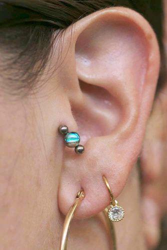Tragus Piercing Healing Time #piercing #beauty
