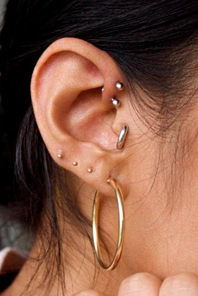 Thick Piercings Ring In Tragus #thickring #thickpiercingring