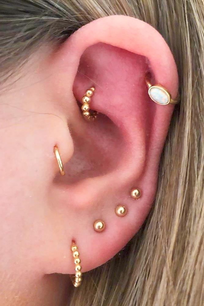 Tragus Piercing Ring #piercingring #tragusring