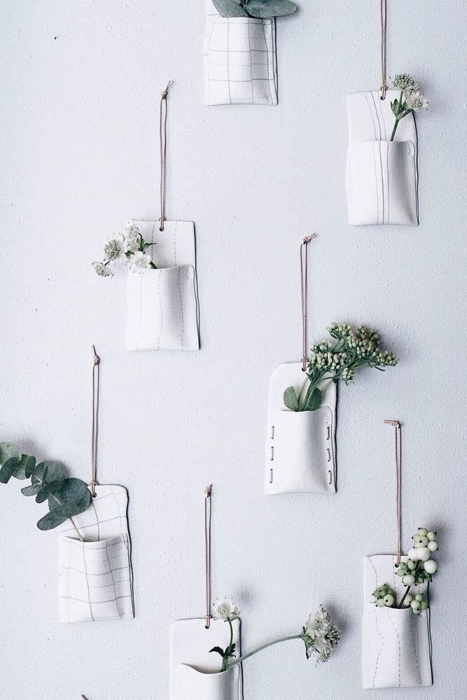 Small Ceramic Wall Planters Pots #ceramicpots #smallpots