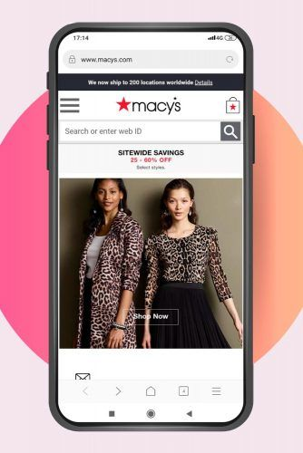 Black Friday Shopping With Macy's