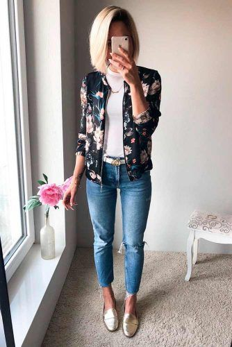 Casual Outfit With Bomber