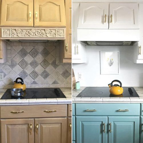 Paint The Cabinets #kitchenupdates #paintedcabinets