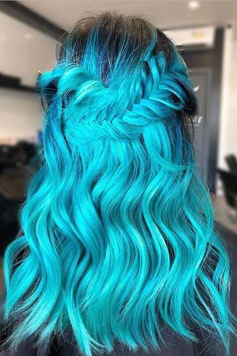 Atomic Turquoise #bluehair