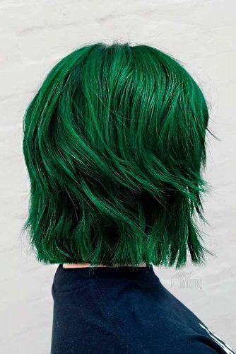 Green Envy #greenhair