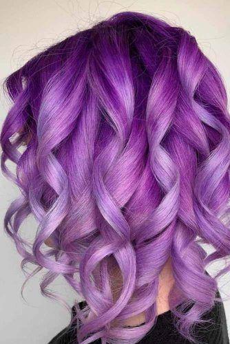 Ultra Violet #purplehair #lilachair