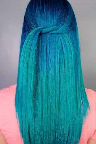 Voodoo Blue #bluehair