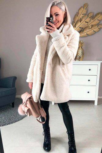 White Wool Coat #whitecoat #coat