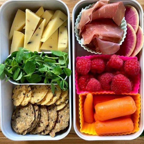 Gluten Free Lunch Box #carrot #cheese
