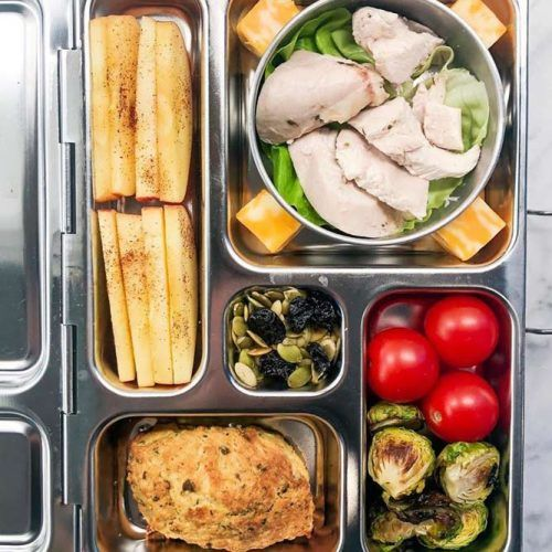 Chicken Lunch Box Idea #proteinlunch
