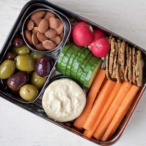 No Cooking Lunch Box #carrot #crackers