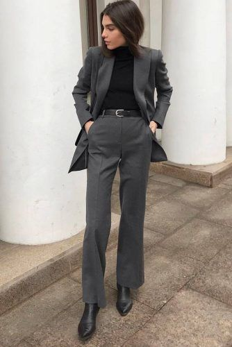 Why Is Business Attire Important #powersuit #formaloutfit