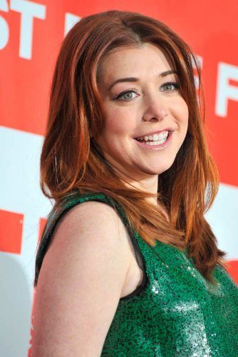 Blended Copper Tones Of Alyson Hannigan #alysonhannigan