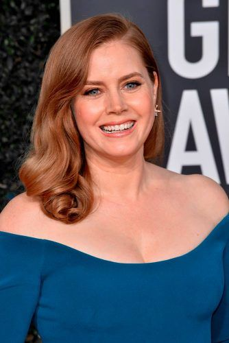 Amy Adams's Soft Copper Waves #amyadams
