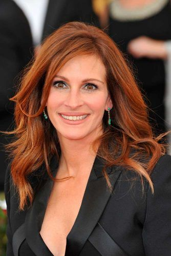 Copper Color Melt Of Julia Roberts #juliaroberts