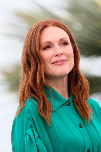 Classic Copper Shade Of Julianne Moore #juliannemoore