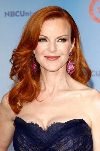 Rich Copper Of Marcia Cross #marciacross