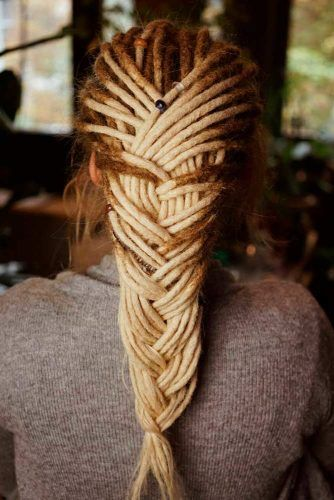 Braided Dreads #dreads #braid