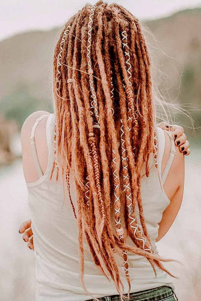 When Should You Start Dreads? How Long Should Your Hair Be For Dreadlocks? #redhair #bohohairstyle