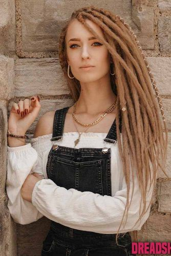 Faux Dreadlocks #dreads #coolhairstyles