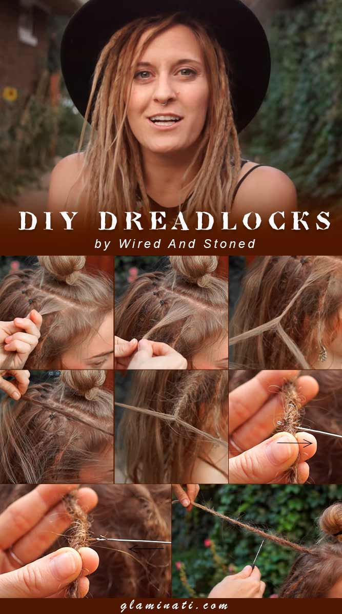 How To Make Dreadlocks #hairtutorial