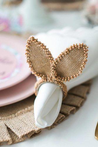 Bunny Ears Napkin Ring #bunnyears