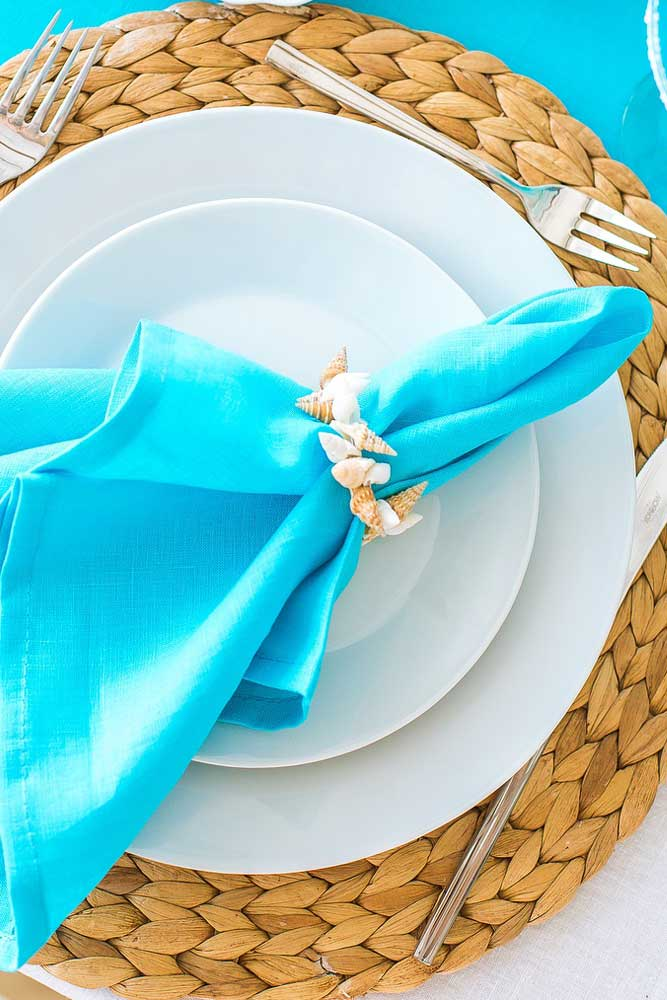 What Is A Napkin Ring Called? #shellsring