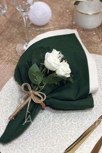 Flower Napkin Ring #flowerring