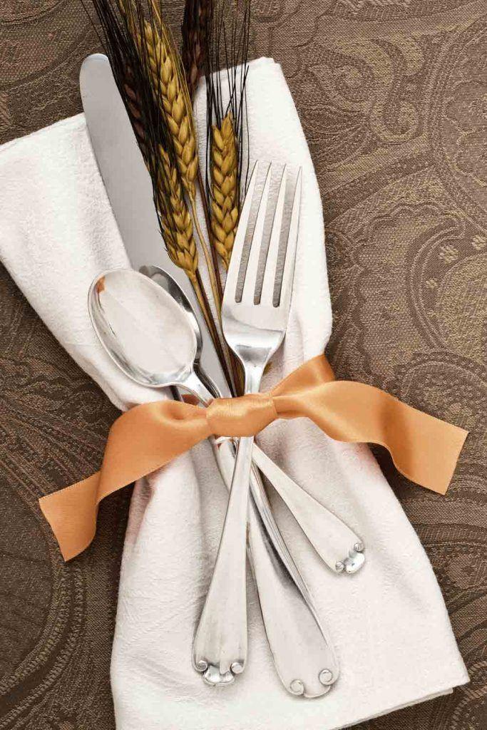Minimalistic Thanksgiving Napkin Ring