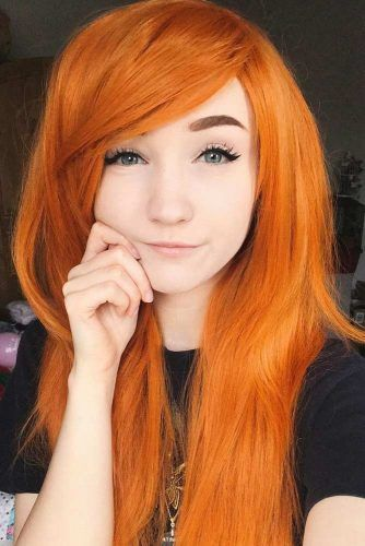 Perfect Orange Hair Color For Your Skin Tone #gingerhair #longhair