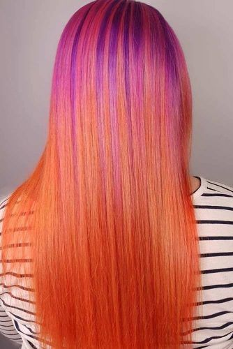 Cool Skin Tone #brighthair #sleekhair