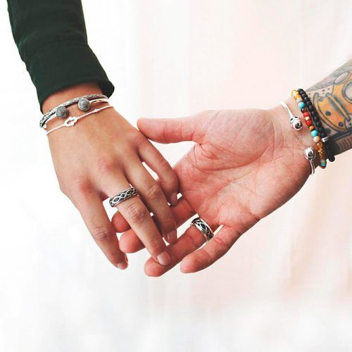 Do Both Partners Wear A Promise Ring? #relationship #rings