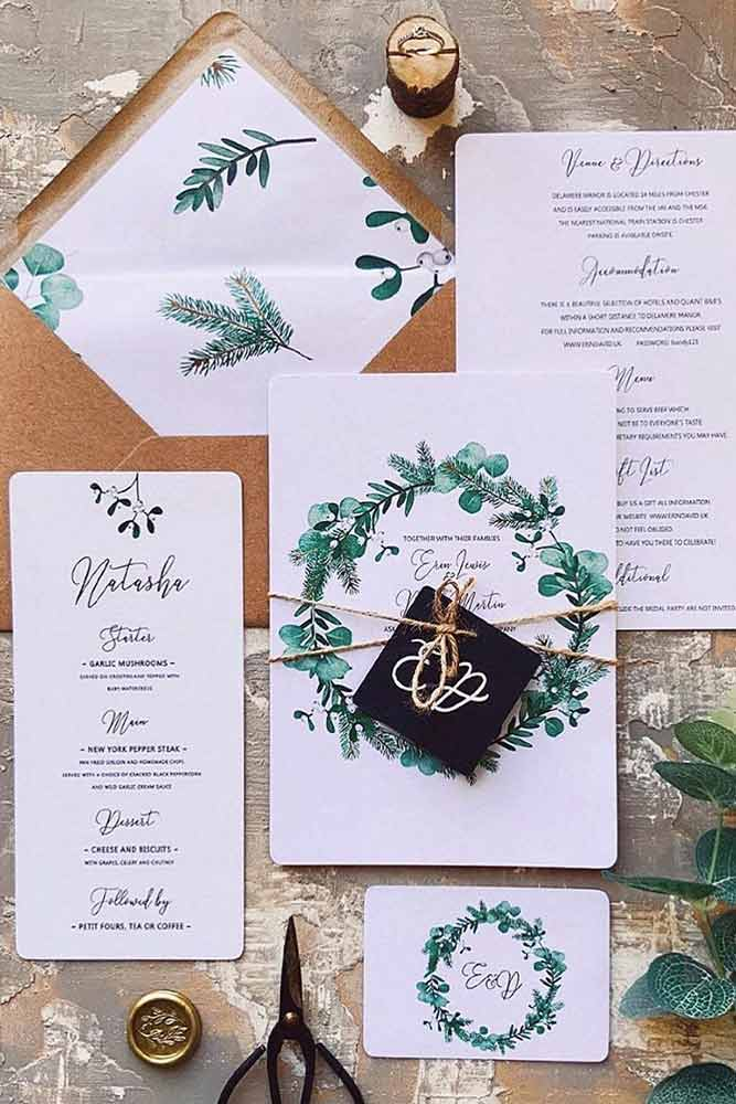 Tie With Twine And Tags #invites