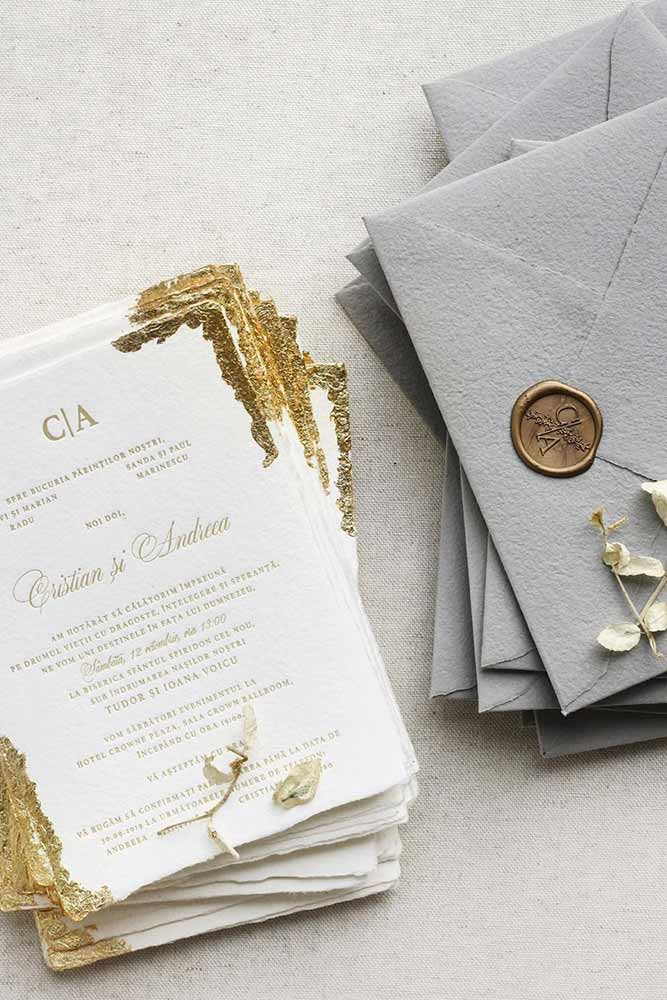 Wax Stamping #invites #wedding