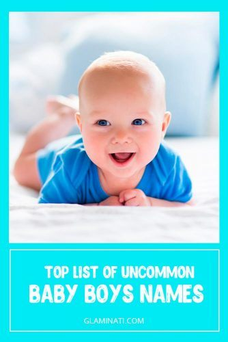 Uncommon Names For Little Boys #uncommonnames #babynames