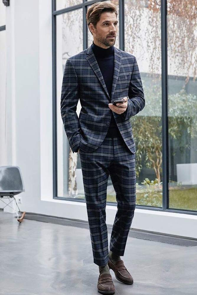 What Does Business Casual Mean For A Man #plaidsuit