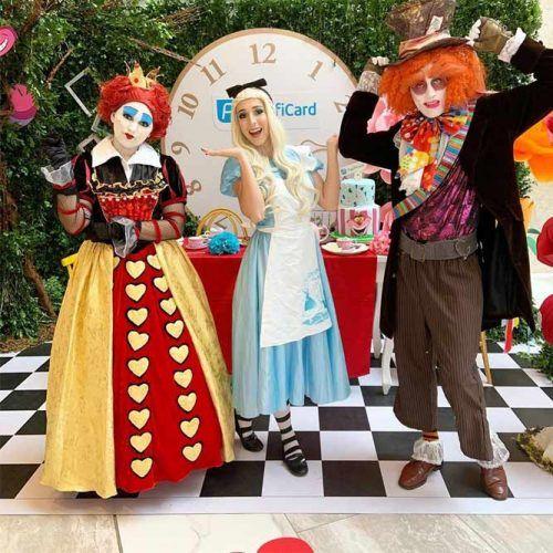 Mad Hatter's Tea Party #aliceinwonderland #costumeparty