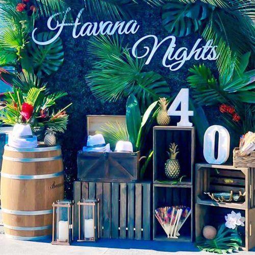 Havana Nights #tropicaldecor #havananights