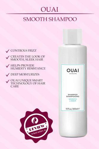 Ouai Smooth Shampoo #ouai
