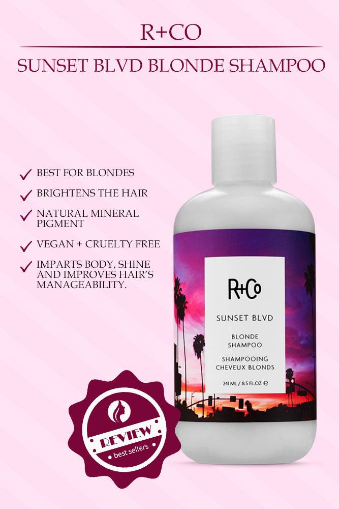 R+Co Sunset Blvd Blonde Shampoo #randco