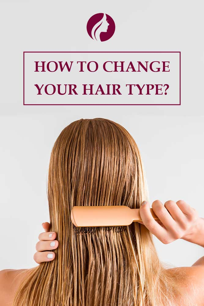 Can You Change Your Hair Type? #haircaretips