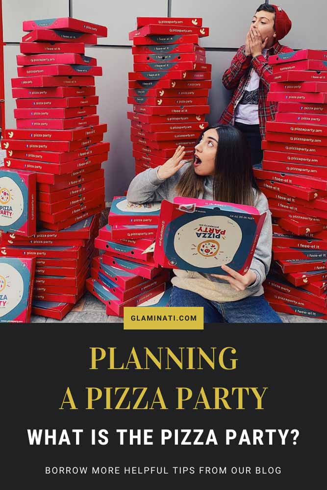What Is The Pizza Party? #partyideas #foodparty