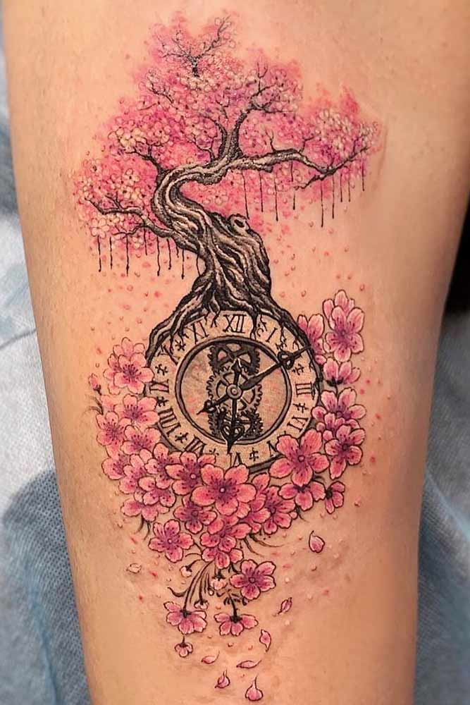 What Does Cherry Blossom Trees Tattoos Mean?