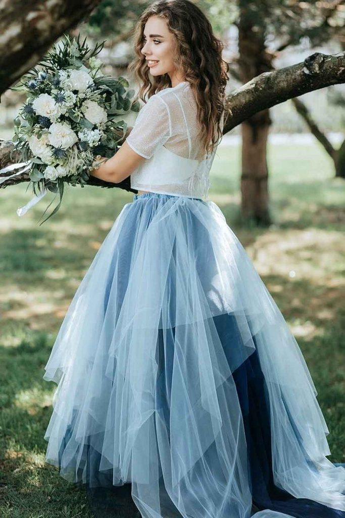 Tulle Skirt With Transparent Top
