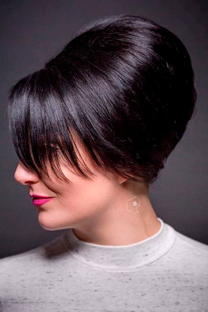 When Was Beehive Hair Popular? #brunettes #formalhair