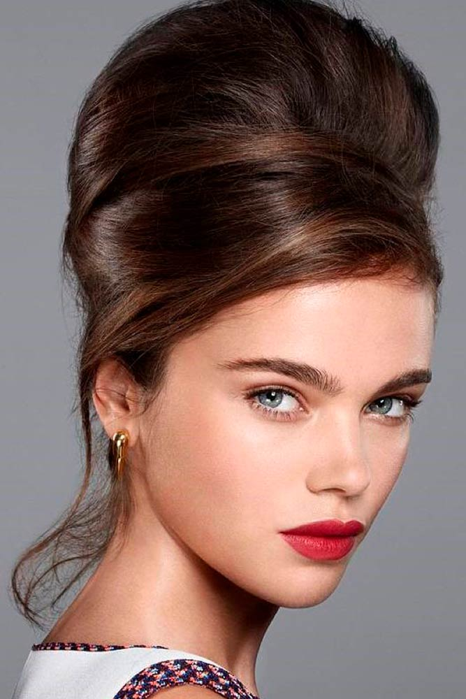 The Beehive Hairstyle #retrihairstyles #hair