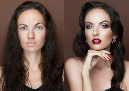 Incredible Before And After Makeup Transformations