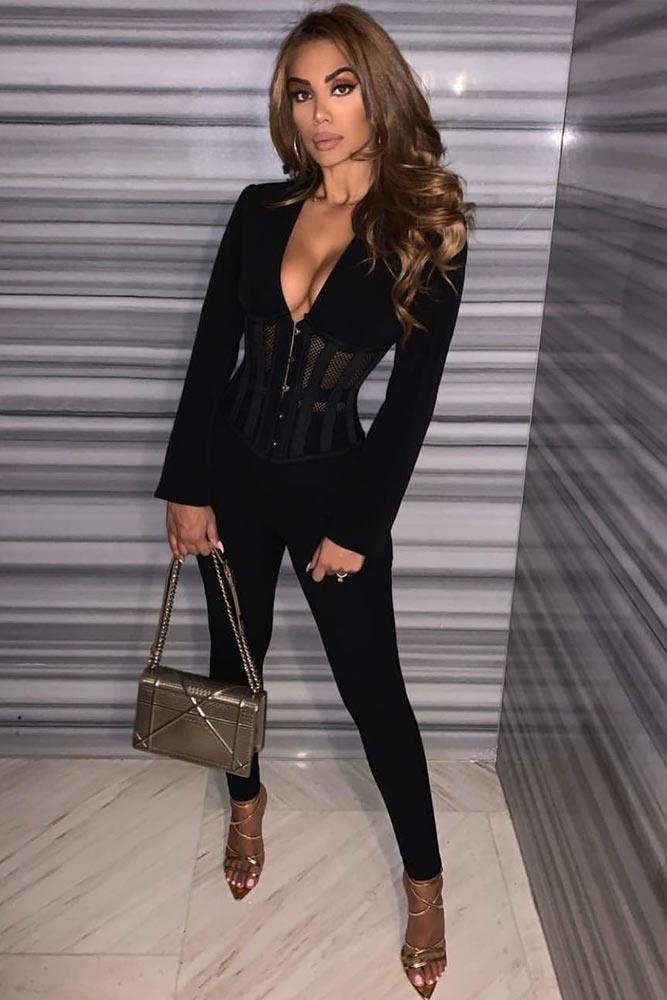 Black Blazer Outfit #blackblazer
